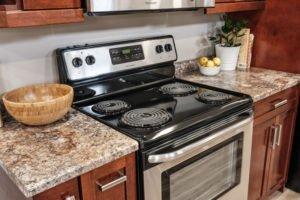 Kitchen Renovation Stove and Countertop
